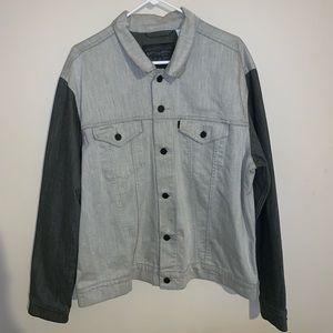 Men's Levi Strauss & CO Black and White Jacket